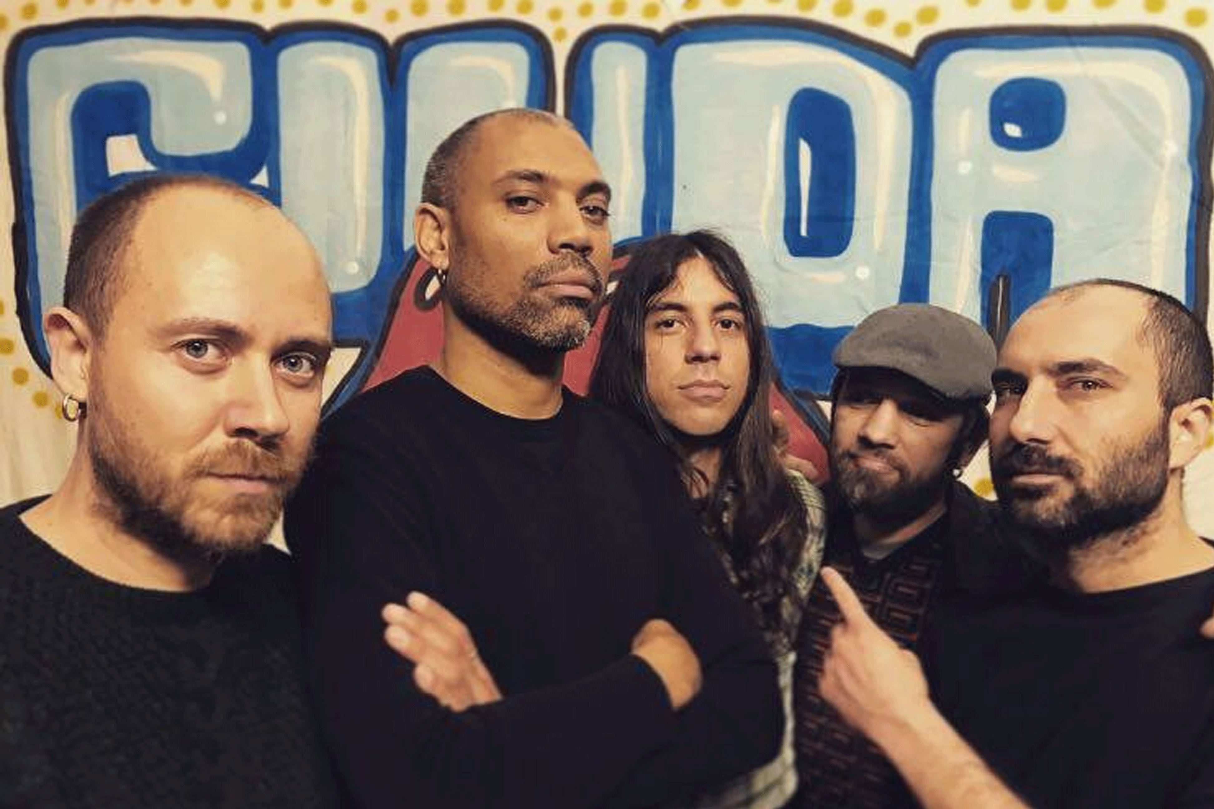 Giuda Rock & roll band - Mike-Guitar / Tenda-Vox / Alex-Drum / Danilo-Bass / Lorenzo-Guitar
